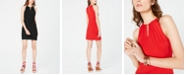 INC International Concepts I.N.C. Petite Halter-Neck Bodycon Dress, Created for Macy's