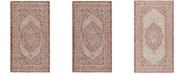 "Safavieh Courtyard Light Beige and Terracotta 2'7"" x 5' Sisal Weave Area Rug"