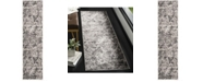 Safavieh Skyler Charcoal and Ivory 2' x 8' Runner Area Rug