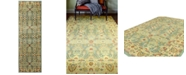 "BB Rugs Darnley DAR-20 Light Green 2'7"" x 10' Runner Area Rug"