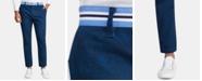 Tallia Men's Straight-Fit Stretch Paisley Pants
