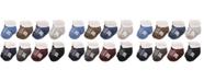Hudson Baby Short Crew Socks, 8-Pack, Boy Athletic, 0-24 Months