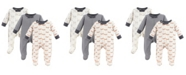 Baby Vision Touched By Nature Organic Cotton Sleep and Play, 3-Pack, 0-9 Months