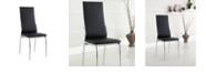 Benzara Contemporary Side Chair - Set Of 2