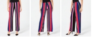 INC International Concepts I.N.C. Petite Striped Soft Pants, Created for Macy's