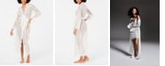 INC International Concepts I.N.C. Ivory Lace Wrap Robe, Created for Macy's