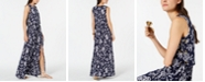 Michael Kors Printed Grommet-Laced Maxi Dress, Regular & Petite, Created for Macy's