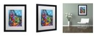 "Trademark Global Dean Russo 'Pop Chihuahua' Matted Framed Art - 16"" x 20"" x 0.5"""