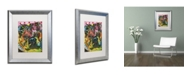 "Trademark Global Dean Russo 'Determined' Matted Framed Art - 20"" x 16"" x 0.5"""