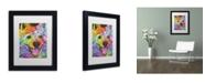 """Trademark Global Dean Russo '01' Matted Framed Art - 11"""" x 14"""" x 0.5"""""""
