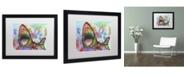 """Trademark Global Dean Russo 'Shark 1' Matted Framed Art - 16"""" x 20"""" x 0.5"""""""
