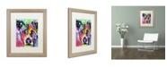 """Trademark Global Dean Russo 'Flipped' Matted Framed Art - 20"""" x 16"""" x 0.5"""""""