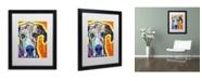 "Trademark Global Dean Russo 'Great Dane' Matted Framed Art - 16"" x 20"" x 0.5"""