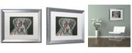 "Trademark Global Dean Russo 'Love Thy Boxer' Matted Framed Art - 20"" x 16"" x 0.5"""