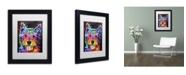 "Trademark Global Dean Russo 'Westie' Matted Framed Art - 11"" x 14"" x 0.5"""
