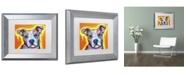 "Trademark Global Dean Russo 'A Serious Pit' Matted Framed Art - 14"" x 11"" x 0.5"""