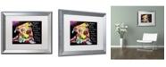 """Trademark Global Dean Russo 'Firu' Matted Framed Art - 20"""" x 16"""" x 0.5"""""""