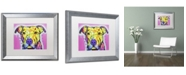 """Trademark Global Dean Russo 'Focused Pit' Matted Framed Art - 20"""" x 16"""" x 0.5"""""""