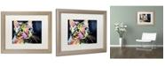 "Trademark Global Dean Russo 'Catillac New' Matted Framed Art - 20"" x 16"" x 0.5"""
