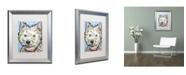 """Trademark Global Dean Russo 'Highland' Matted Framed Art - 20"""" x 16"""" x 0.5"""""""