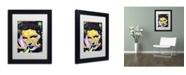 "Trademark Global Dean Russo 'Katherine Hepburn' Matted Framed Art - 11"" x 14"" x 0.5"""