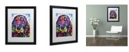"""Trademark Global Dean Russo 'Cocker Spaniel II' Matted Framed Art - 16"""" x 20"""" x 0.5"""""""