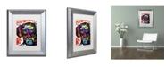 """Trademark Global Dean Russo 'Dox' Matted Framed Art - 14"""" x 11"""" x 0.5"""""""