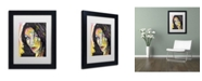 """Trademark Global Dean Russo 'Love Doesn't Live Here' Matted Framed Art - 11"""" x 14"""" x 0.5"""""""
