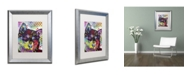 "Trademark Global Dean Russo 'Shiba Inu' Matted Framed Art - 20"" x 16"" x 0.5"""