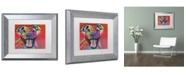 """Trademark Global Dean Russo 'Atticus' Matted Framed Art - 14"""" x 11"""" x 0.5"""""""