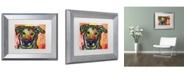 "Trademark Global Dean Russo 'Crystal' Matted Framed Art - 14"" x 11"" x 0.5"""