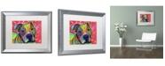 """Trademark Global Dean Russo 'Julius' Matted Framed Art - 20"""" x 16"""" x 0.5"""""""