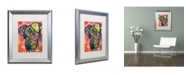 """Trademark Global Dean Russo 'Zen' Matted Framed Art - 20"""" x 16"""" x 0.5"""""""