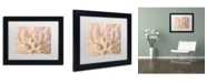 "Trademark Global Cora Niele 'Vintage Tulip' Matted Framed Art - 11"" x 14"" x 0.5"""