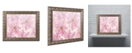 "Trademark Global Cora Niele 'Pink Cherry Blossom' Ornate Framed Art - 20"" x 16"" x 0.5"""