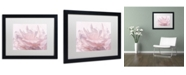 "Trademark Global Cora Niele 'Pink Peony Petals III' Matted Framed Art - 16"" x 20"" x 0.5"""