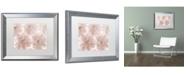"Trademark Global Cora Niele 'Prunus Blossom' Matted Framed Art - 20"" x 16"" x 0.5"""
