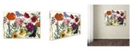 "Trademark Global Color Bakery 'Printemps I' Canvas Art - 19"" x 2"" x 14"""