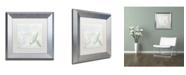 "Trademark Global Color Bakery 'She Sells Seashells II' Matted Framed Art - 11"" x 0.5"" x 11"""