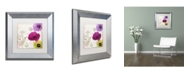 """Trademark Global Color Bakery 'Love Notes I' Matted Framed Art - 11"""" x 0.5"""" x 11"""""""