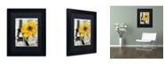 "Trademark Global Color Bakery 'Paris Blanc' Matted Framed Art - 11"" x 14"" x 0.5"""