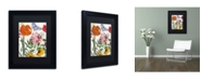 "Trademark Global Color Bakery 'Printemps' Matted Framed Art - 11"" x 14"" x 0.5"""