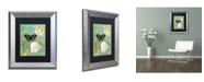 "Trademark Global Color Bakery 'White Tulips' Matted Framed Art - 11"" x 0.5"" x 14"""
