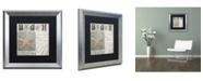 "Trademark Global Color Bakery 'Beach Book II' Matted Framed Art - 16"" x 0.5"" x 16"""