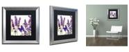 """Trademark Global Color Bakery 'Lavender I' Matted Framed Art - 16"""" x 0.5"""" x 16"""""""
