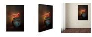 """Trademark Global Jai Johnson 'Little Red Guardian' Canvas Art - 24"""" x 16"""" x 2"""""""