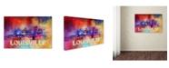 "Trademark Global Jai Johnson 'Sending Love To Louisville' Canvas Art - 24"" x 16"" x 2"""