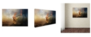 """Trademark Global Jai Johnson 'Leading Him Out Of The Storm' Canvas Art - 47"""" x 30"""" x 2"""""""