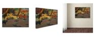 "Trademark Global Degas 'Before The Performance' Canvas Art - 19"" x 14"" x 2"""
