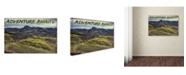 "Trademark Global Cora Niele 'Adventure Awaits' Canvas Art - 47"" x 30"" x 2"""